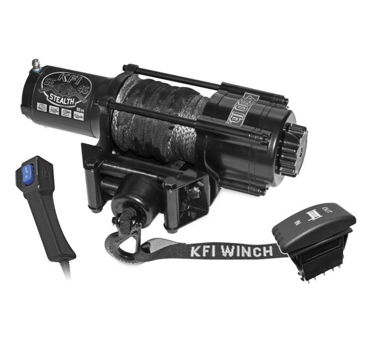 KFI Stealth Synthetic 4500 Winch [SE45-R2]