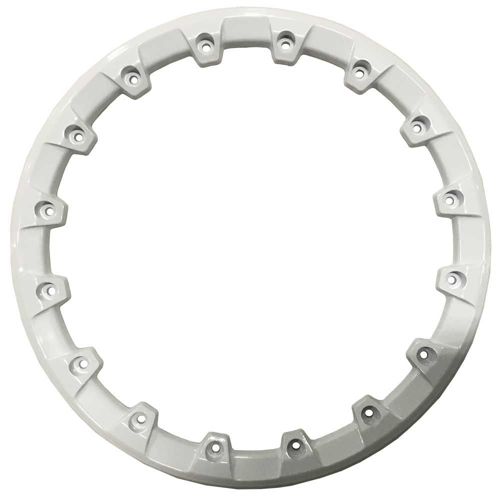 "STI 14"" HD5 Beadlock Ring - White [14HB5R13]"