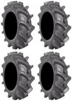 Full set of BKT AT 171 (6ply) 38x10-20 ATV Mud Tires (4)