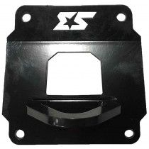 S3 Power Sports Rear Pull Plate w/ Tow Hook Polaris RZR XP 1000 - Black