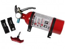 """Assault Industries Quick Release Fire Extinguisher Kit w/ 1.875"""" Clamps"""