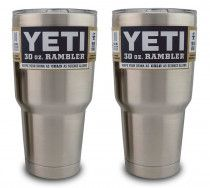 YETI Rambler 30 oz. Stainless Steel Tumbler Bundle (2)